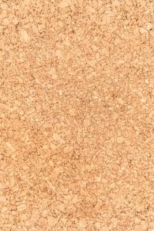 Gros plan et texture de la surface en bois du panneau de liège