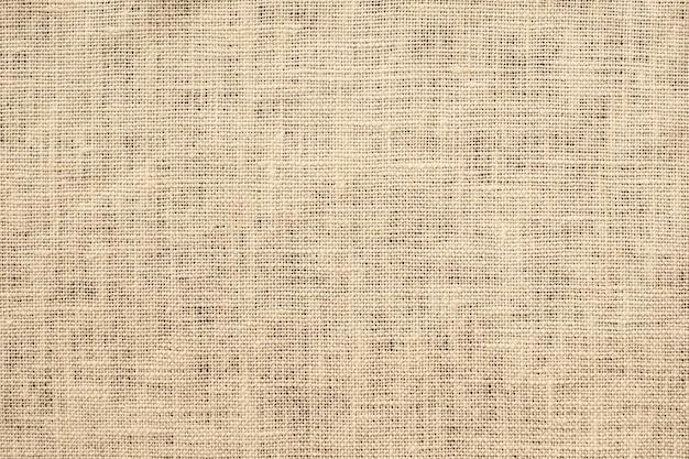 Gros plan de texture de tissu marron