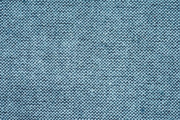 Gros plan de tissu bleu