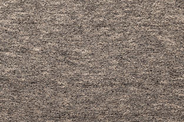 Gros plan de tissu brun