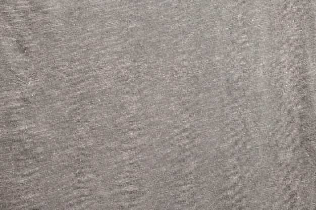Gros plan de tissu gris