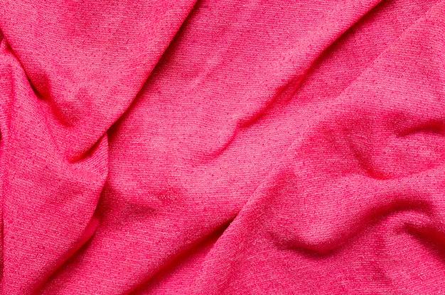 Gros plan de tissu rose