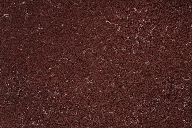 Gros plan de tissu rouge
