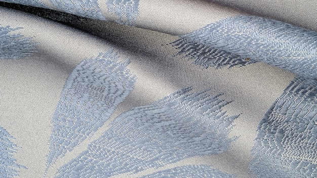 Gros plan de tissu à volants