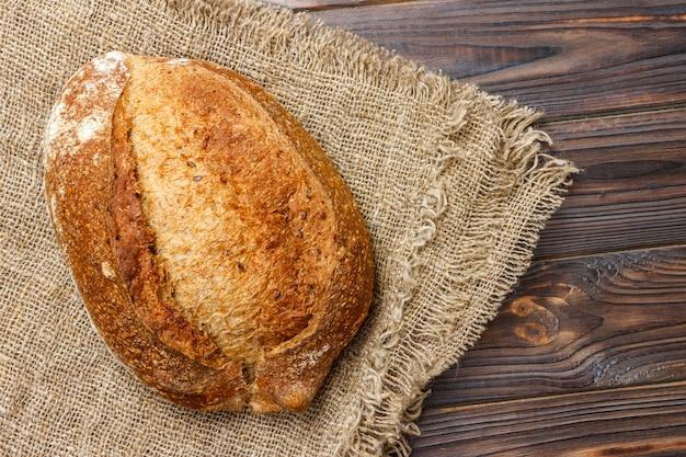 Gros plan, traditionnel, frais, pain