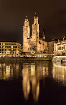 Grossmünster, une plus grande église de zurich