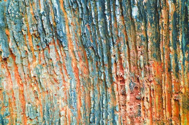 Grotte ancienne de surface de feuille de pierre de granit pour la couleur intérieure de ton de rouille