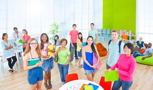 Groupe d'étudiants en université