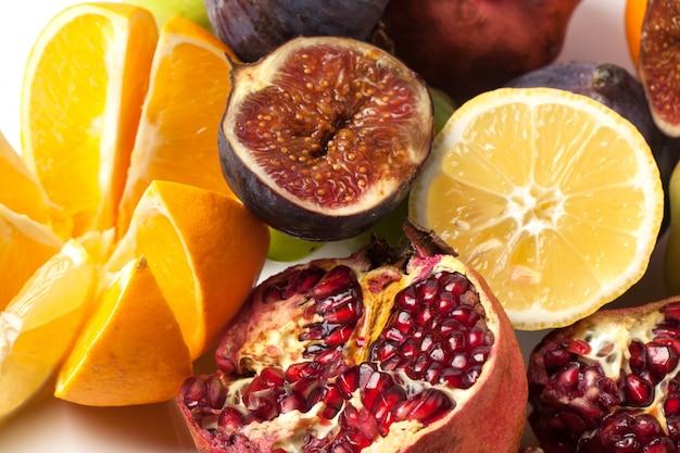 Groupe de fruits frais
