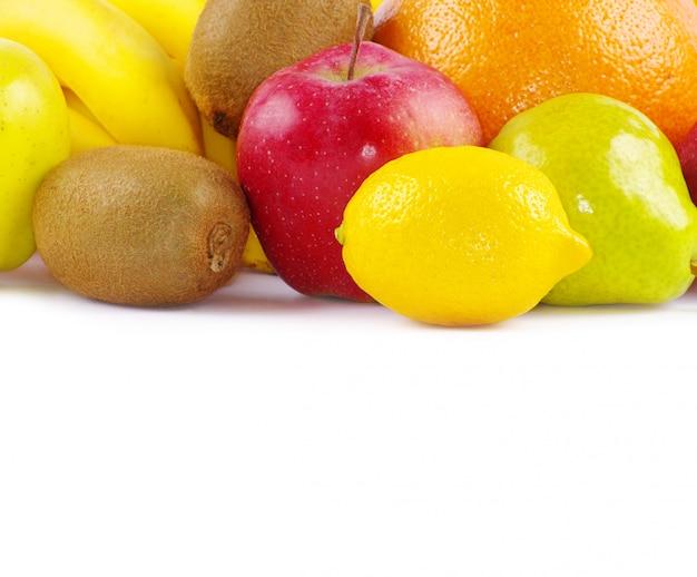 Groupe de fruits