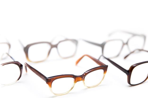 Groupe de lunettes anciennes vintage