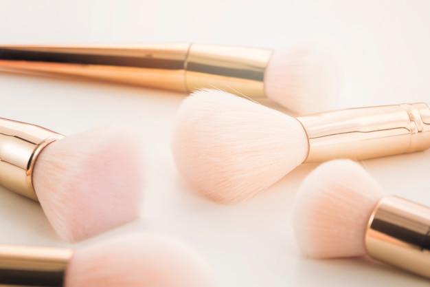 Groupe de pinceaux de maquillage