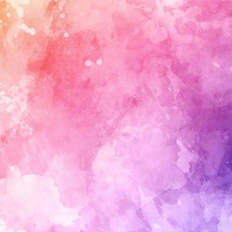 Grunge aquarelle texture de fond avec des icônes et des taches