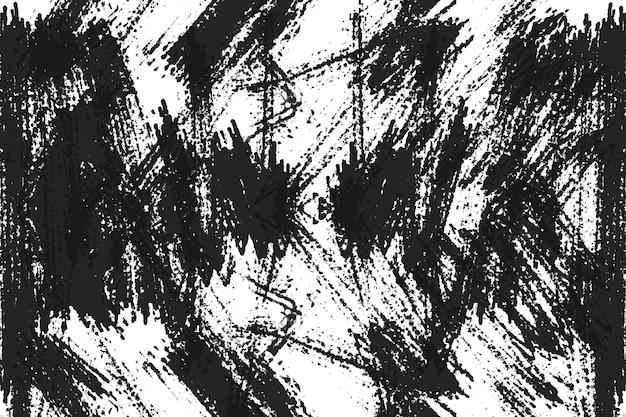 Grunge black and white distress texture grunge texture pour faire abstrait de polices de bannière
