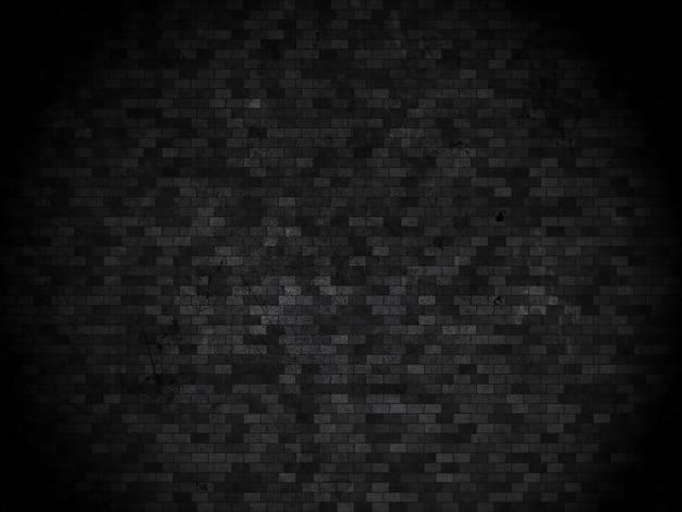 Grunge détaillée mur de briques de fond