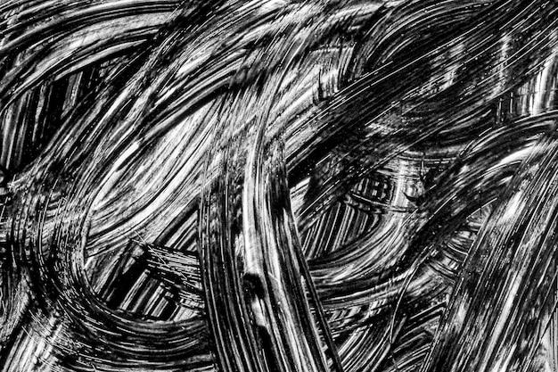 Grunge fond abstrait coups de pinceau peint à la main