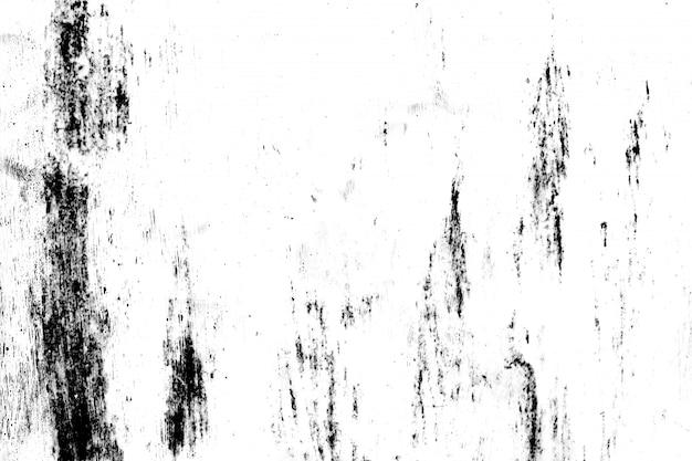 Grunge métal et poussière gratter fond de texture noir et blanc