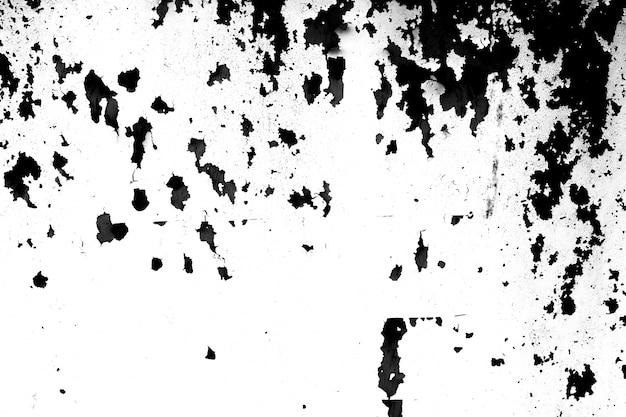 Grunge métal et poussière gratter texture noir et blanc
