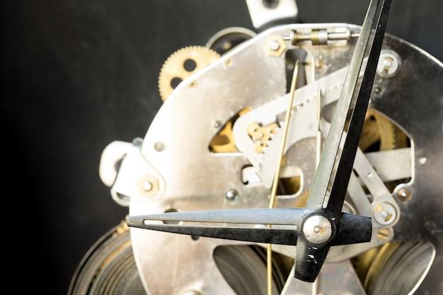 Grunge old vintage clock