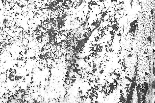 Grunge vieille peinture contraste texture noir et blanc