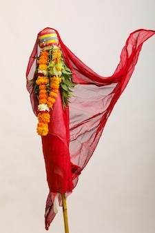 Gudi padwa marathi new year, festival indien gudi padwa