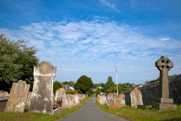 Guernesey cimetière hdr