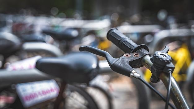 Guidon de vélo noir