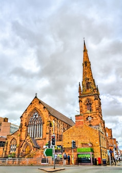 Guildhall, anciennement église holy trinity à chester cheshire, angleterre