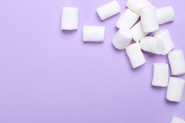 Guimauves sucrées