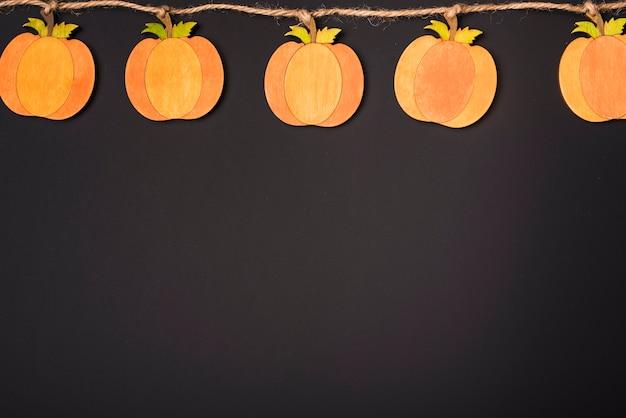 Guirlande de papier pour halloween