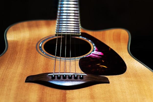 Guitare acoustique de style country