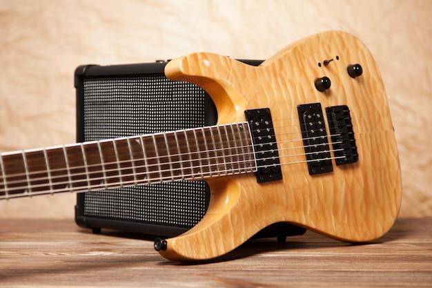 Guitare électrique moderne