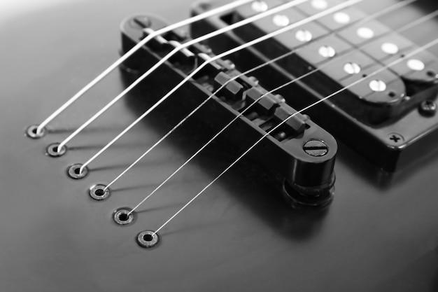 Guitare électrique se bouchent