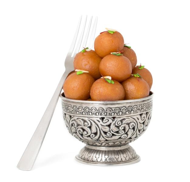 Gulab jamun sweet food