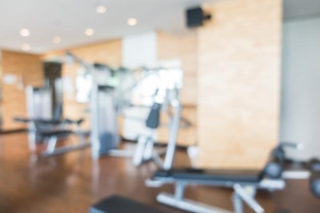 Gym flou abstrait