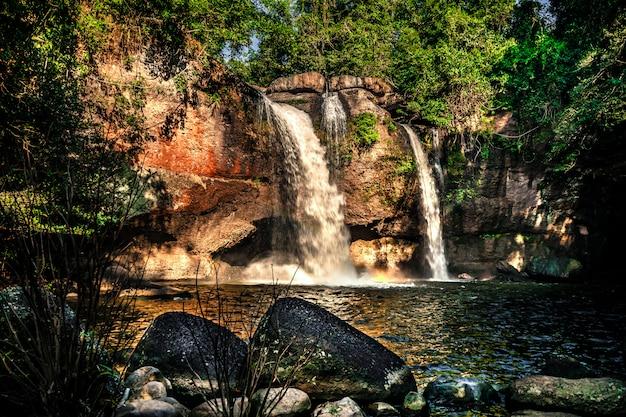 Haew suwat waterfall parc national de khao yai