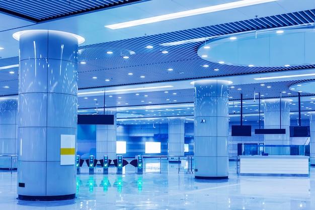 Hall d'attente de l'aéroport