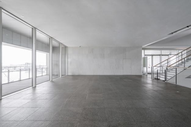Hall d'entrée et carrelage vide, espace intérieur