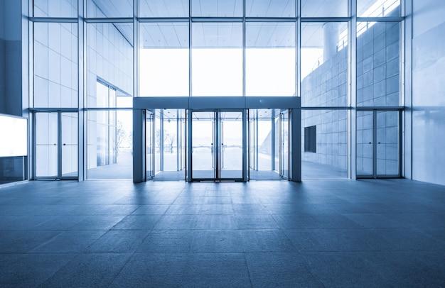 Hall d'entrée et dalle de sol vide