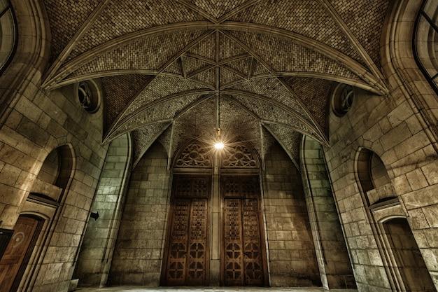 Hall d'entrée - église