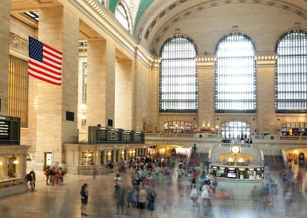 Hall principal du grand central terminal, à new york