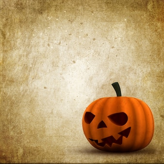 Halloween fond style grunge avec jack o lantern