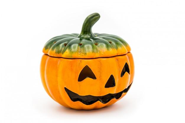 Halloween jack o lantern seau débordant de chocolat coloré