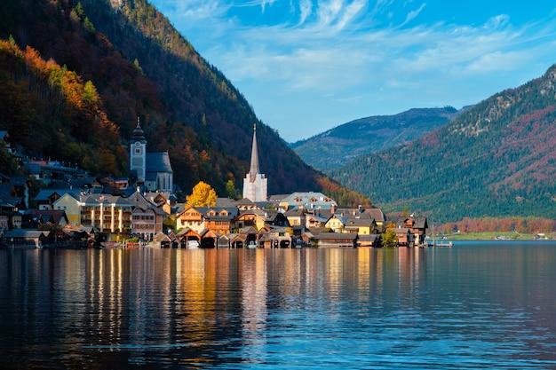 Hallstatt village autriche