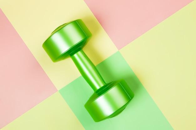 Haltère vert