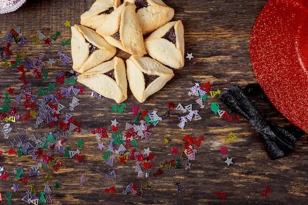 Hamantaschen cookies pour la fête juive pourim