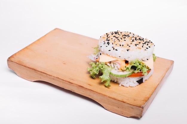Hamburger au riz