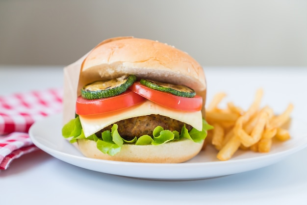 Hamburger de bacon