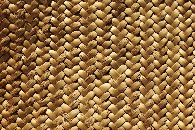 Handcraft tisser texture fibre végétale naturelle