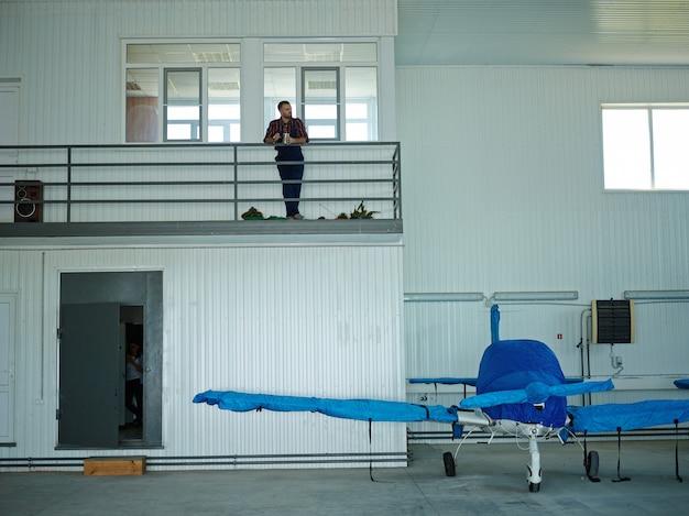 Hangar de maintenance